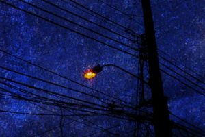 23 Mar 2015 --- Street Lamp. --- Image by © André Burian/Corbis