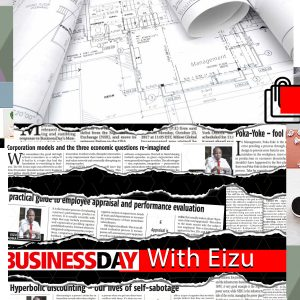 Cover -Eizu on Businessday